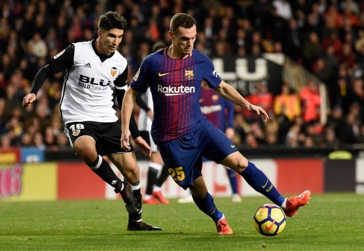 """Vermaelen staat met Barcelona voor duel met oude rivaal: """"Transfer naar Engeland is mogelijk"""""""