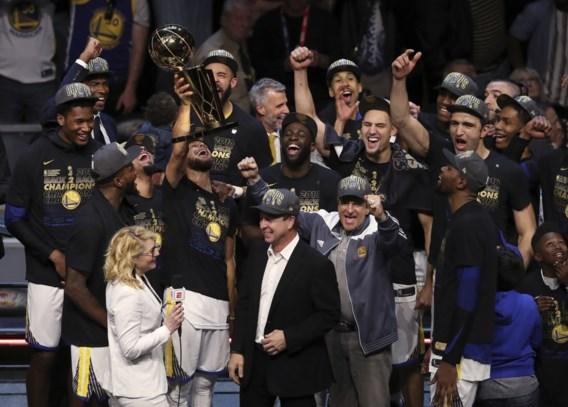 Golden State Warriors verkozen tot Sportpersoonlijkheid van het Jaar in de Verenigde Staten