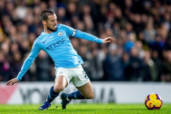 Manchester City moet David Silva even missen met hamstringblessure