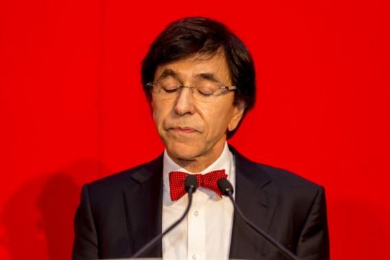 Di Rupo: 'PS niet uit op nieuwe verkiezingen'