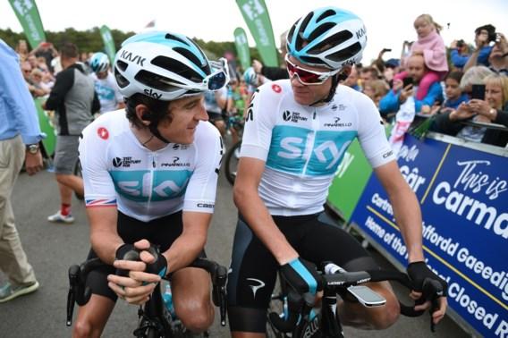 Team Sky slaat wielerwereld met verstomming: hoofdsponsor stopt na 2019, voortbestaan wielerploeg onzeker