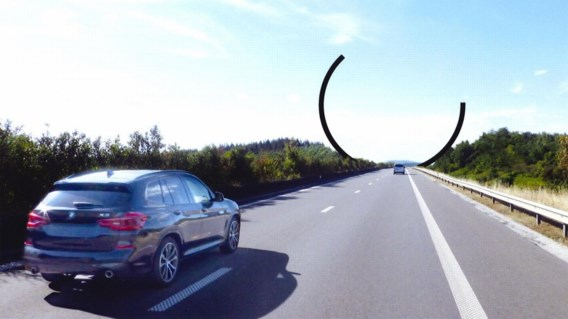 Belgische snelweg krijgt er opvallend kunstwerk bij