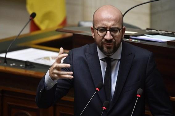 Michel kaatst terug in Kamer: 'Zij die dat willen, kunnen een motie van wantrouwen indienen'