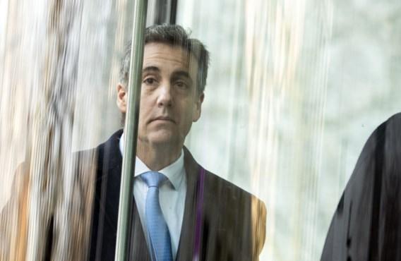 Michael Cohen, ex-advocaat van Trump, veroordeeld tot drie jaar cel