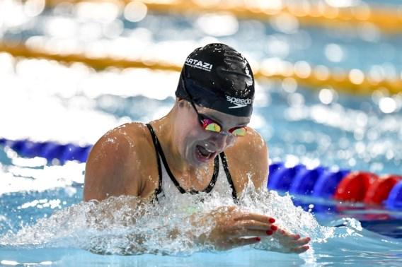 Fanny Lecluyse finisht als zevende in 50m schoolslag op WK zwemmen kortebaan