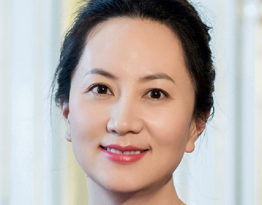 Cfo Huawei wordt vrijgelaten op borg