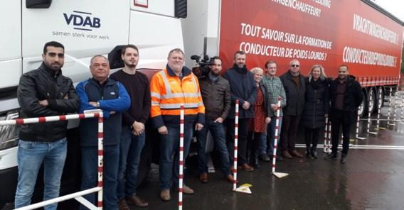 VDAB stoomt truckers met arbeidsbeperking klaar voor job