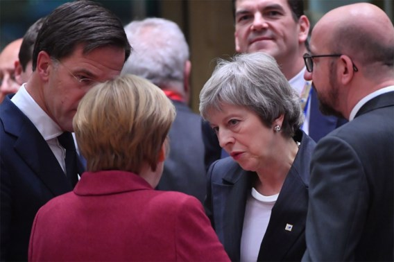 EU-leiders geloven niet dat ze May kunnen redden