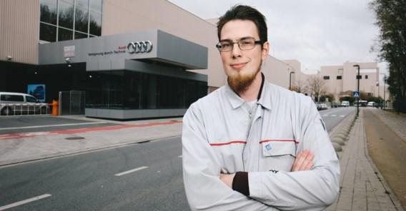 Enthousiasme en interesse worden beloond bij Audi Brussels
