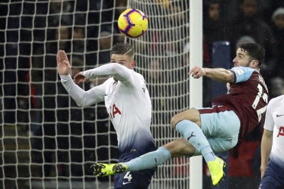 Tottenham, met Alderweireld als enige Belg, wint in extremis