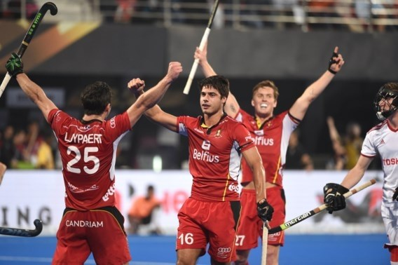 Belgian Red Lions pakken historische winst op WK hockey