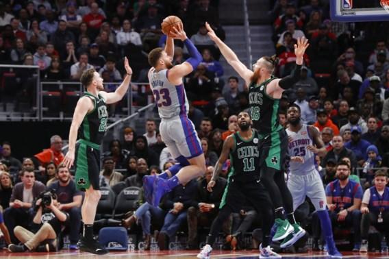 Pistons maken einde aan zegereeks van Celtics, alweer triple double voor LeBron James
