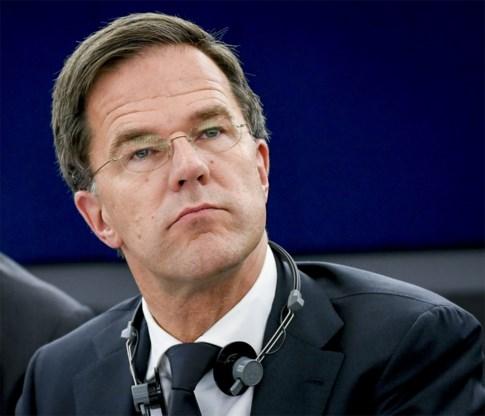 Nederlandse premier Rutte: 'We moeten Nederland beschermen door compromissen te sluiten'