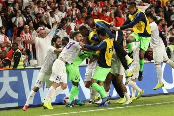 WK voor clubs: gastheer verrast River Plate en plaats zich als eerste voor finale