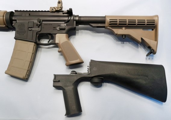 Amerikaanse regering verbiedt 'bump stock' die wapens sneller laat schieten
