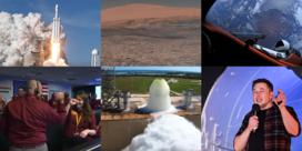 Een 'Big Fucking Rocket' en een marslander: 2018 was het jaar van de ruimte