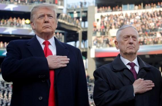 Trump is weer een minister kwijt: Mattis stopt ermee