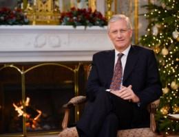 Koning laat politiek in kerstboodschap doorsijpelen