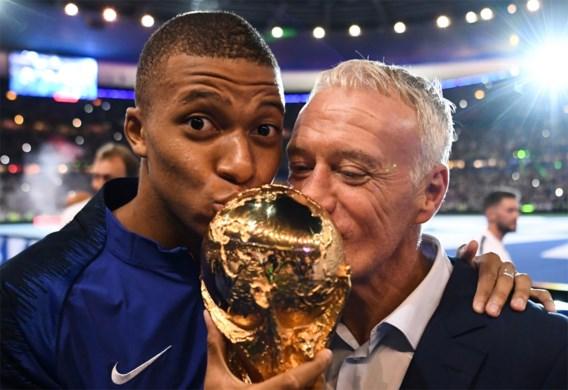 PSG-vedette Kylian Mbappé verkozen tot 'Speler van het Jaar' in Frankrijk
