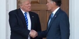 Wil Romney het opnemen tegen Trump?