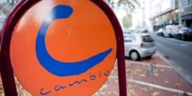 Net geen half miljoen ritten voor Cambio in 2018