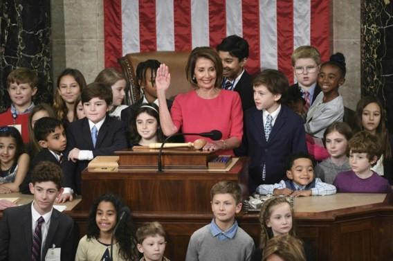 Nancy Pelosi aangesteld als voorzitter van het Huis van Afgevaardigden