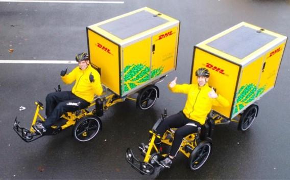 DHL gaat in Gent pakjes leveren met de fiets