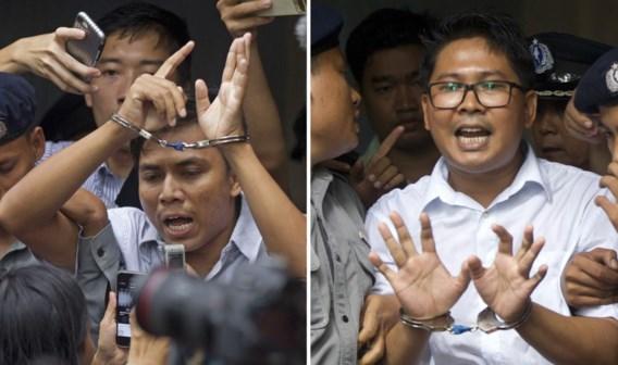 Journalisten in Myanmar ook in beroep veroordeeld tot zeven jaar cel wegens 'schending staatsgeheimen'