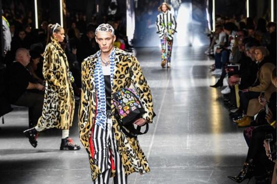 Gezien bij Versace: van kop tot teen in dezelfde print