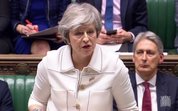 May: 'Geen Brexit waarschijnlijker dan geen deal'