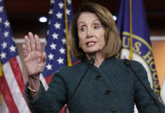 Trump annuleert vlucht van Pelosi, geen VS-delegatie naar Davos