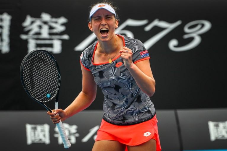 Na Elise Mertens kwalificeert ook David Goffin zich na valse start voor derde ronde op Australian Open