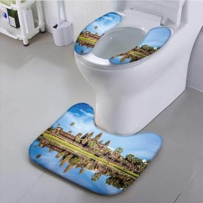 Cambodja wil niet dat u nog langer uw toiletbril versiert met afbeeldingen van Angkor Wat