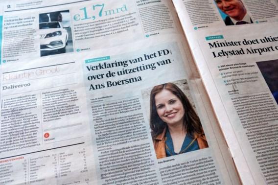 Nederlandse krant verbreekt samenwerking met uitgezette correspondent