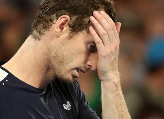"""Andy Murray overweegt operatie en annuleert volgend tornooi: """"Het is hard, maar ik heb geen keuze"""""""