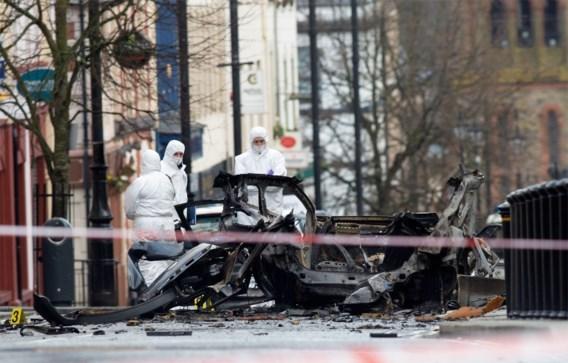 Arrestaties na ontploffing bomauto in Noord-Ierland
