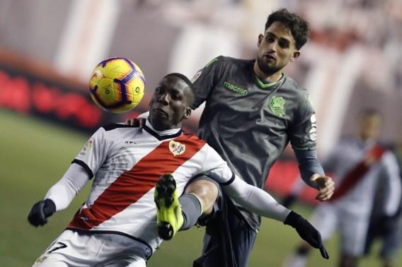 Januzaj pakt met Sociedad een punt uit bij Rayo Vallecano