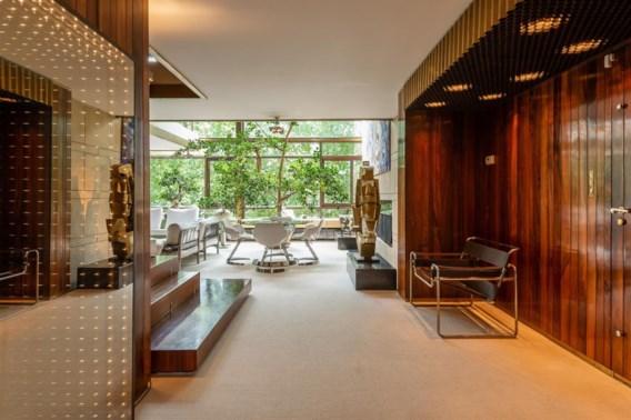 Te koop: uniek appartement, ingericht door Jules Wabbes
