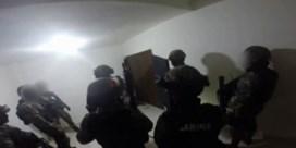 Bodycam van militair onthult geheime tunnel van El Chapo onder badkuip