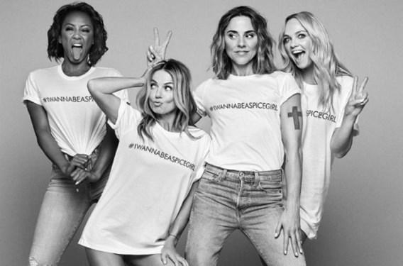 T-shirts Spice Girls worden gemaakt door onderbetaalde arbeiders