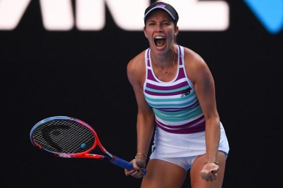 AUSTRALIAN OPEN. Collins staat bij debuut in halve finales Australian Open, Kvitova maakt gehakt van Barty