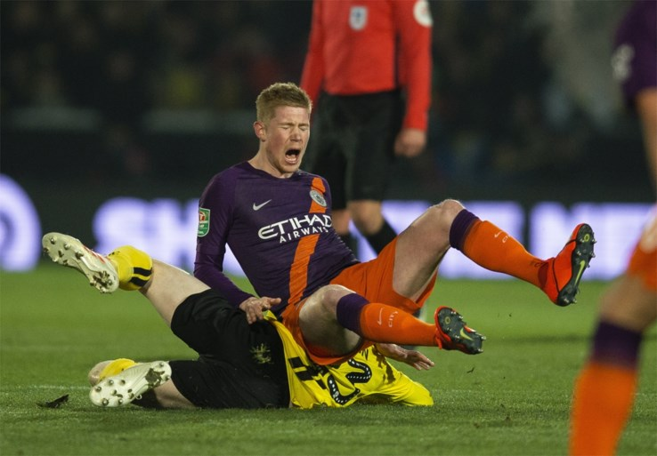 De Bruyne en City zijn lief voor Burton in terugmatch halve finale League Cup