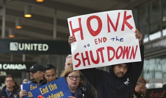 Shutdown kost Trump en parlement geen cent