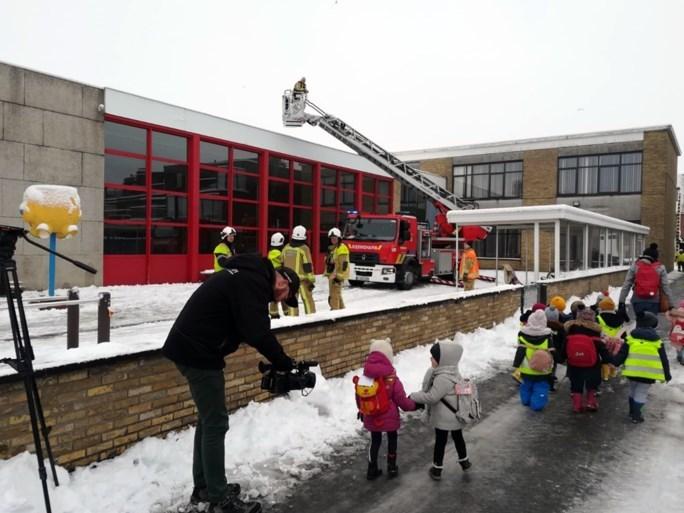 Sneeuw veroorzaakt overlast in West- en Oost-Vlaanderen