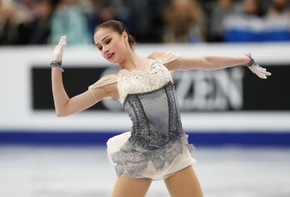 Olympisch kampioene Alina Zagitova leidt na korte kür op EK kunstschaatsen
