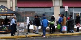 Naar de voedselbank door shutdown