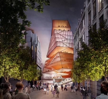 Londen gaat voor verticale muziekstad