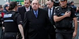 Schotse ex-premier Salmond aangeklaagd voor aanranding