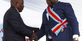 Nieuwe Congolese president onwel tijdens inauguratie, roept op tot nationale eenheid