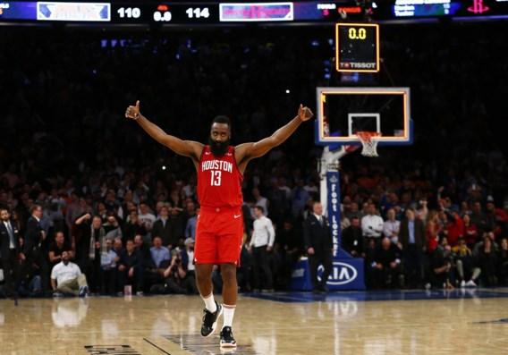 NBA. James Harden steelt met 61 punten de show in Madison Square Garden